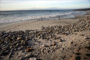 Sand and Shingle Beach